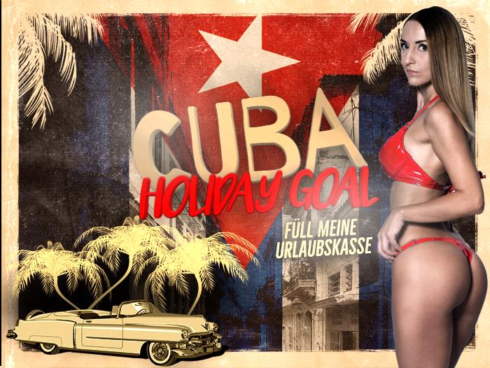 Holiday Goal - Füll meine Urlaubskasse - Kuba
