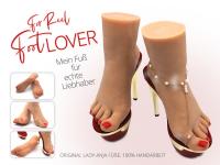 Mein Fuß für Liebhaber (links oder rechts)