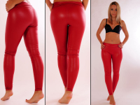 Wetlook Leggings rot