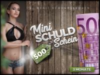 Micro-Schuldschein 3 Monate zu je 500 Euro