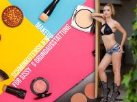 Makeup Schminkutensilien für Sissy´s Grundausstattung