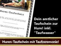 Huren-Taufschein inkl. NS