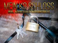 KG-Schloss graviert! Keuschheits-Kontrolle!