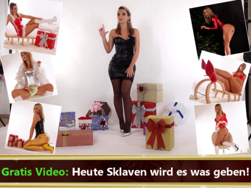 Gratis Video: Heute Sklaven wird es was geben!