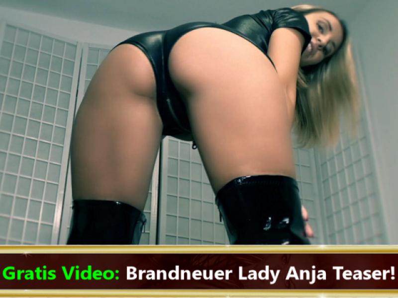 Gratis Video: Hol dir den nächsten Lady Anja Kick