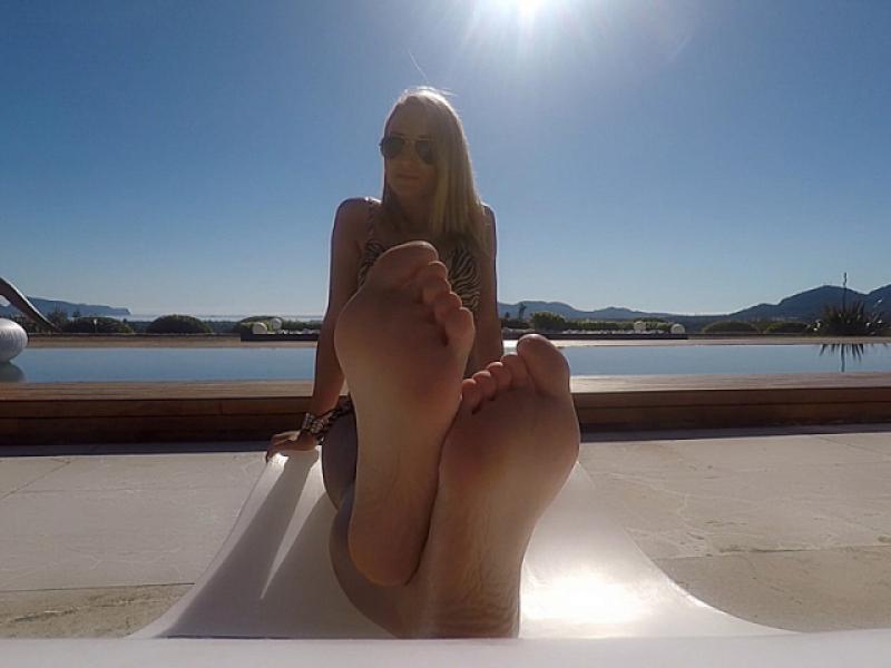 Bewundere meine Göttinnen-Füße