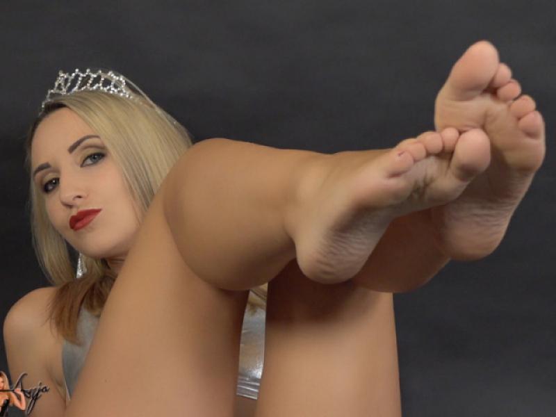 Füße so luxuriös wie Diamanten