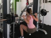 Train my sexy body - gym voyeur