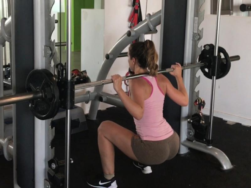 Train my sexy body – gym voyeur