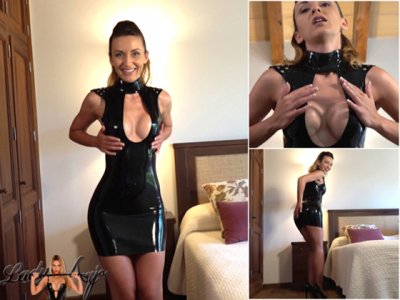 Be my Latex Jerkaholic (Jerk off Instruction)